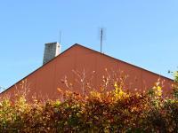 Štít s novou fasádou. - Prodej chaty / chalupy 158 m², Olešná