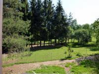 Výhled z ložnice - Prodej zemědělského objektu 350 m², Černá v Pošumaví