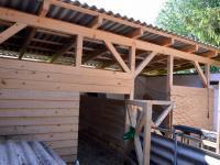 Boxy pro koně - Prodej zemědělského objektu 350 m², Černá v Pošumaví