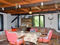 Obytný pokoj v 2. NP - Prodej domu v osobním vlastnictví 230 m², Černá v Pošumaví