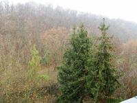 pohled z lodžie (Prodej bytu 2+1 v osobním vlastnictví 49 m², Praha 9 - Hrdlořezy)