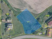 Prodej pozemku, 1379 m2, Dlouhá Lhota
