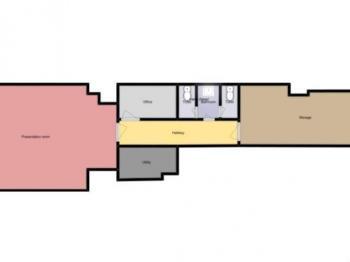 Pronájem kancelářských prostor 86 m², České Budějovice