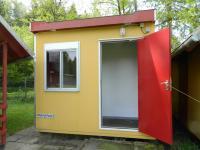 Sociální zařízení u chatek. - Prodej hotelu 2809 m², Dobronice u Bechyně