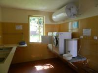 Možnost použít pračku, sušičku, ždímačku. - Prodej hotelu 2809 m², Dobronice u Bechyně