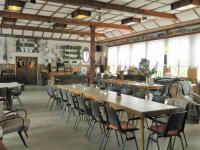 Interiér restaurace. - Prodej hotelu 2809 m², Dobronice u Bechyně