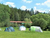 Pohled na restauraci od řeky Lužnice. - Prodej hotelu 2809 m², Dobronice u Bechyně