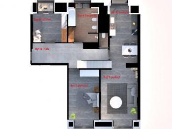 Prodej bytu 3+kk v družstevním vlastnictví 98 m², Praha 8 - Libeň