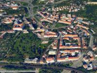 Mapa s vyznačeným domem - Prodej bytu 2+kk v osobním vlastnictví 36 m², Praha 8 - Libeň