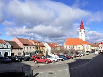Pohled z náměstí  - Prodej hotelu 1530 m², Jemnice