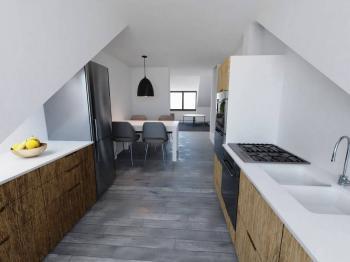 Prodej bytu 3+kk v osobním vlastnictví, 113 m2, Praha 8 - Libeň