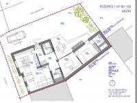 půdorys návrh - Prodej chaty / chalupy 148 m², Slavonice