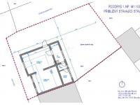 stávající půdorys - Prodej chaty / chalupy 148 m², Slavonice