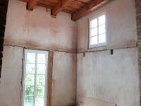 podkroví-vstup do věže - Prodej komerčního objektu 930 m², Husinec