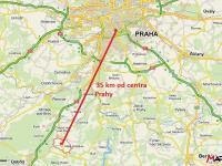 výborná dostupnost Prahy (Prodej pozemku 72321 m², Malá Hraštice)