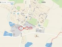 Pronájem pozemku 2000 m², Halže