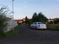 příjezdová cesta k pozemku (Prodej pozemku 1103 m², Lom)