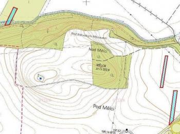 Orná půda kat.mapa - Prodej pozemku 8551 m², Louny