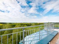 výhled ze západní terasy (Prodej komerčního objektu 2000 m², Strančice)