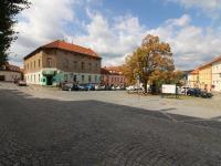 dům přímo na náměstí (Prodej bytu 3+1 v osobním vlastnictví 95 m², Příbram)