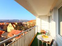 lodžie s výhledem - Prodej bytu 2+kk v osobním vlastnictví 64 m², Praha 4 - Braník