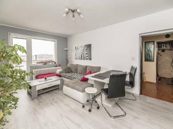 obývací pokoj - Pronájem bytu 2+1 v osobním vlastnictví 64 m², Kladno