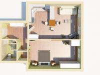 Pronájem bytu 2+kk v osobním vlastnictví 60 m², Praha 7 - Bubeneč