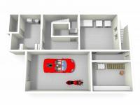 3D suterén (Prodej domu v osobním vlastnictví 291 m², Chropyně)