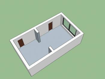 Prostor 3 - Pronájem komerčního objektu 36 m², Kunovice