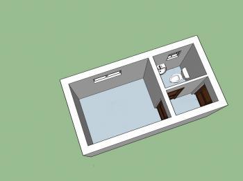 Prostor 1 - Pronájem komerčního objektu 36 m², Kunovice