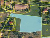 Prodej pozemku 4303 m², Lopeník
