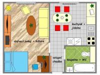 Pronájem byty 1+1 v centru Uh.Hradiště (Pronájem bytu 1+1 v osobním vlastnictví 34 m², Uherské Hradiště)