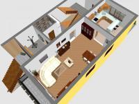 1.NP - Prodej domu v osobním vlastnictví 396 m², Brno