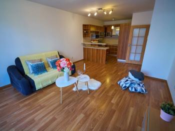 Prodej bytu 2+kk s vlastní zahrádkou, Brno-Slatina - Prodej bytu 2+kk v osobním vlastnictví 52 m², Brno