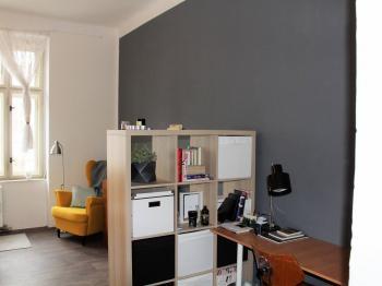 Obývací pokoj - Pronájem bytu 2+1 v osobním vlastnictví 50 m², Brno