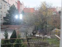 Výhled do vnitrobloku - Pronájem bytu 2+1 v osobním vlastnictví 50 m², Brno