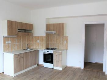 Kuchyně - Pronájem bytu 2+1 v osobním vlastnictví 51 m², Brno