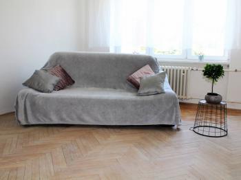 Obývací pokoj - Prodej bytu 2+1 v osobním vlastnictví 54 m², Brno
