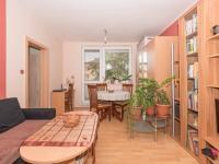 obývací pokoj - Prodej bytu 3+1 v družstevním vlastnictví 74 m², Uherské Hradiště
