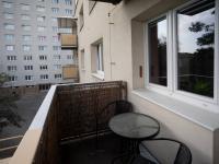 Balkón - Pronájem bytu 1+1 v osobním vlastnictví 36 m², Brno