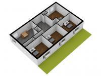 1kk a 4+1, byt celkem 127m2 (Prodej bytu 5+1 v osobním vlastnictví 127 m², Brno)