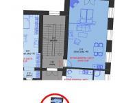 Prodej bytu 1+kk v osobním vlastnictví 73 m², Brno