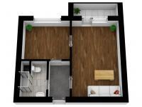 Prodej bytu 1+1 v osobním vlastnictví, 40 m2, Brno