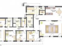 půdorys přízemí (Prodej domu v osobním vlastnictví 169 m², Kořenec)