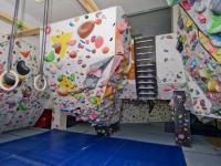 Boulderingová stěna v 2.NP - Prodej jiných prostor 363 m², Brno