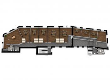 Pronájem kancelářských prostor 367 m², Hustopeče