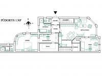 Návrh úpravy dispozice pro bydlení - Prodej domu v osobním vlastnictví 230 m², Šumice