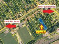 Prodej pozemku 1197 m², Uherský Brod