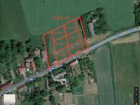 Pozemek 6962 m2 - možné rozdělení parcel a příjezdových cest (Prodej pozemku 6962 m², Králova Lhota)