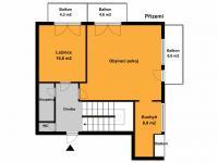 vstupní patro bytu (Prodej bytu 5+kk v osobním vlastnictví 155 m², Praha 10 - Michle)